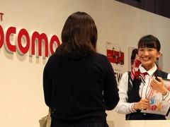 グランプリに輝いたドコモショップ宇和島新町店・大西優里さん