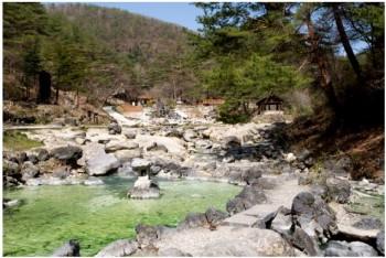 カップル温泉