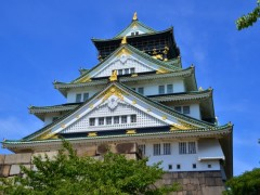 入城者数1位となった「大阪城」