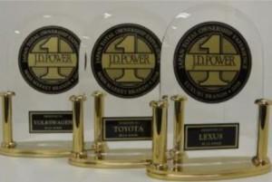 自動車オーナーの保有経験全般を網羅した新たな賞を発表! 1位はレクサス―J.D. パワー